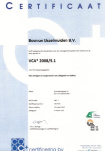 VCA certificaat tm 2020